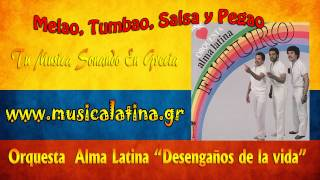 """""""Desengaños de la vida"""" Orquesta Alma Latina Canta Michy Boogaloo"""