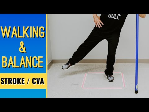 After Stroke/CVA; Walking & Balance Exercises at Home