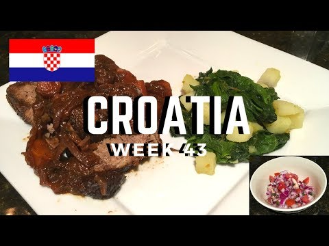 Second Spin, Country 43: Croatia [International Food]