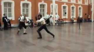 """Фехтование на шпаге с дагой -студия """"Силуэт"""" на Grand Asso 2012"""
