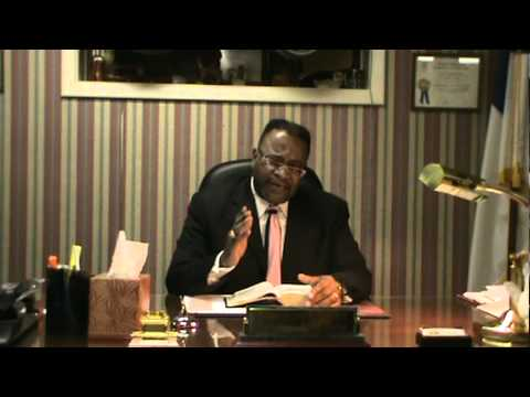 Congratulatory Remarks to Pastor Robert Middleton