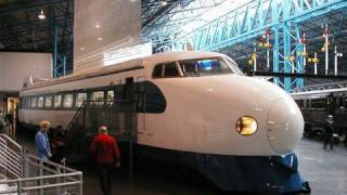 イギリスに渡った新幹線0系 Japanese Bullet Train in NRM : National Railway Museum thumbnail