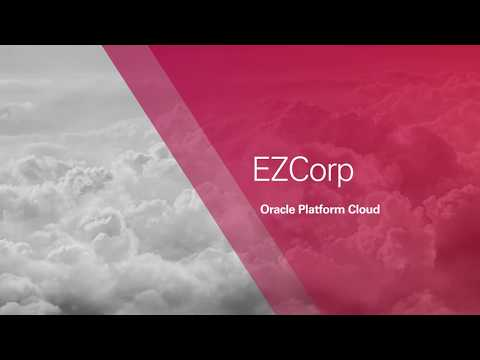 Astute customer EZCorp chooses Oracle Platform Cloud for Its PeopleSoft