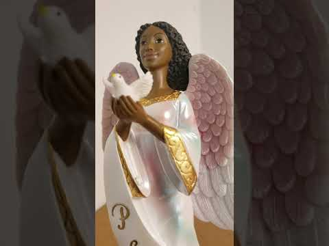 Product Showcase: African American Peace Angel Figurine