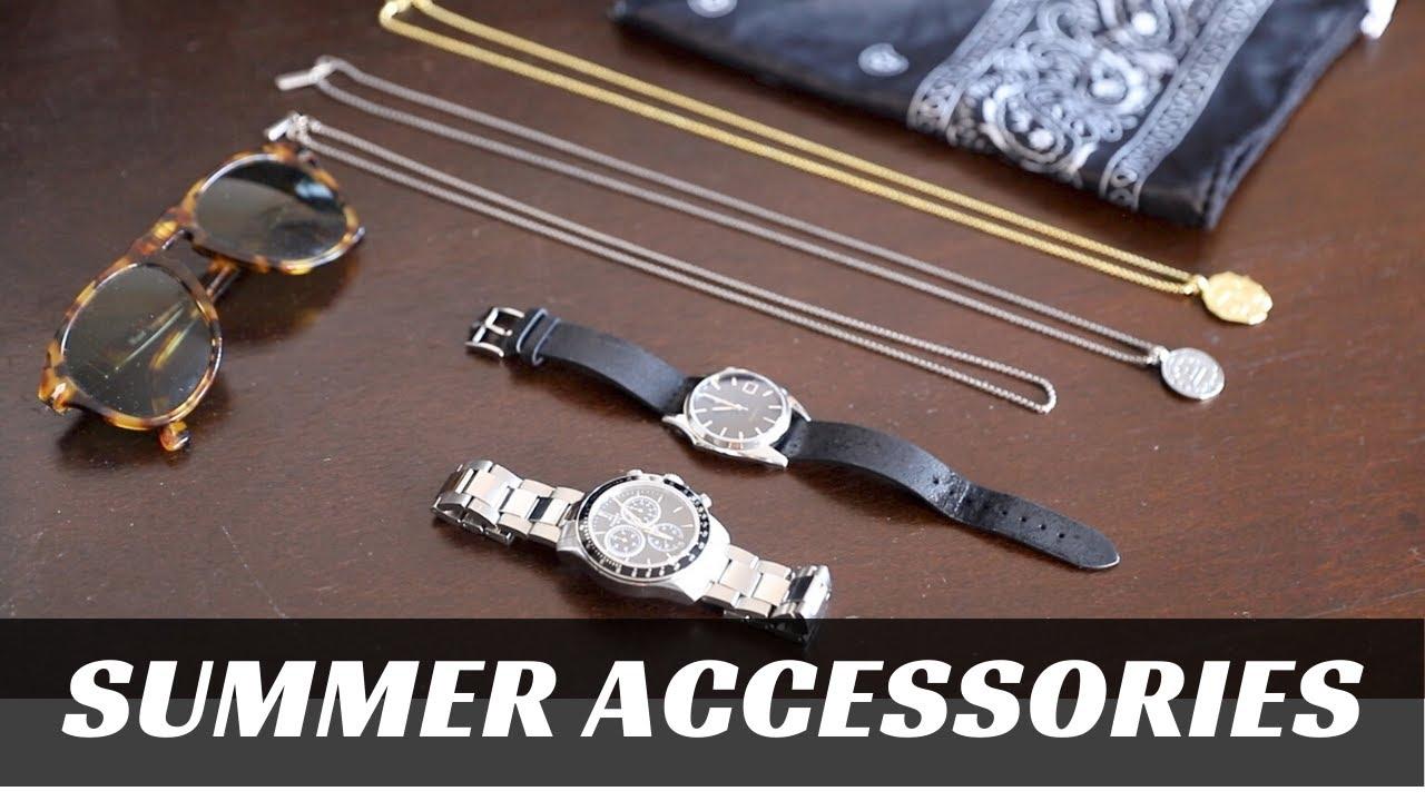 SUMMER ACCESSORIES FOR 2020 | Men's Fashion