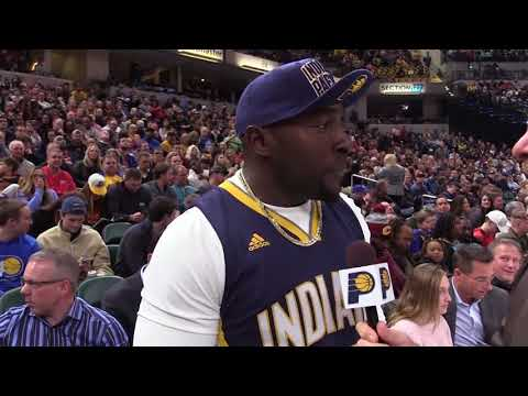Robert Mathis Talks Supporting the Pacers