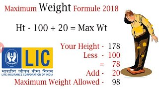 How to Calculate BMI | Height Weight Chart | How to Convert FT to Inch