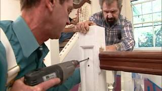 Building A Home Library: Installing Built-in Bookshelves - Shingle Style Home - Bob Vila Eps.1422