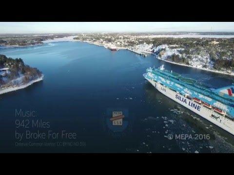 M/S Galaxy Arriving Mariehamn 22.01.2016