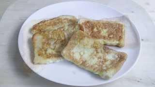 Breakfast Food EGG BREAD Easy Recipe