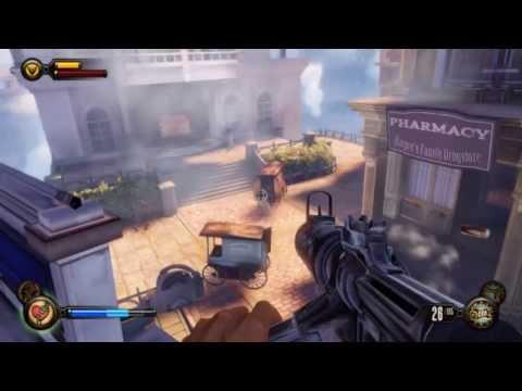 Bioshock Infinite - Low Specs Gameplay