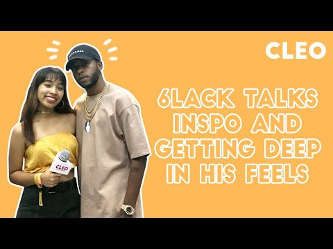 6LACK Talks Inspiration, Finding Meaning and Getting Deep In His Feels | CLEO Chats | CLEO Malaysia