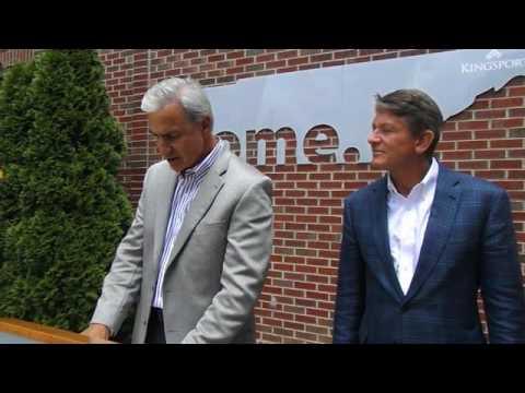 Kingsport Mayor John Clark endorses Randy Boyd's 2018 campaign for governor.