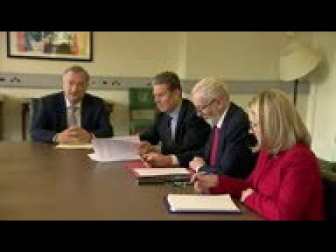 Labour leader prepares for Brexit talks with PM