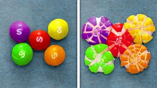 RAINBOW CANDY SATISFACTION || Yummy Dessert Recipes That Will Melt In Your Mouth