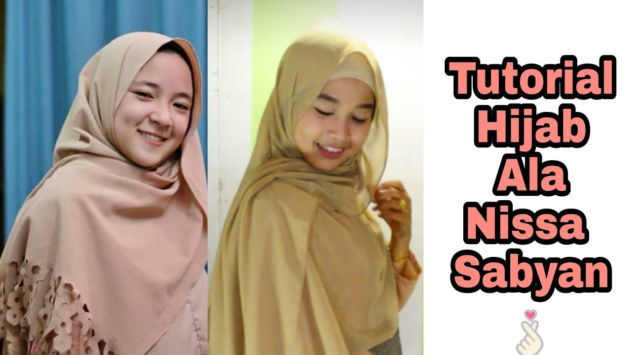 hijab tutorial ala nisaa sabyan..simple banget - youtube