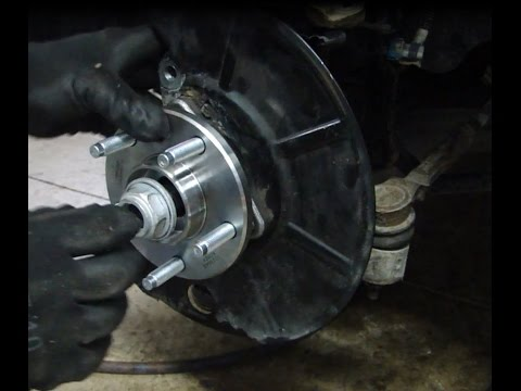 Changing Front Wheel Drive Wheel Bearings