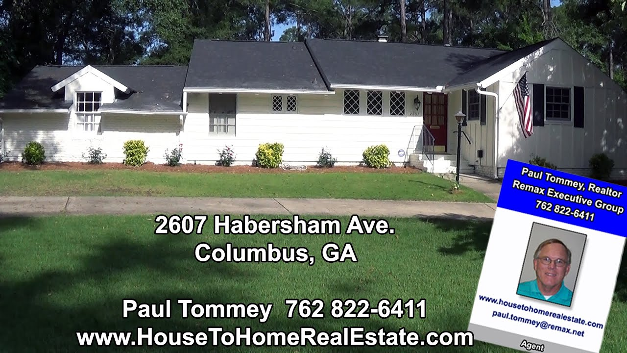 2607 Habersham Ave Columbus Ga Homes For Sale North