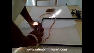 How to make infinity mirror- by www.infinitymirrorart.com