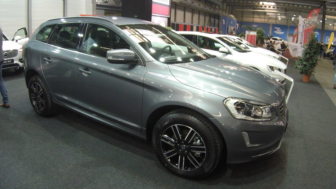 volvo xc60 compilation 2  grey and white colour    walkaround and interior