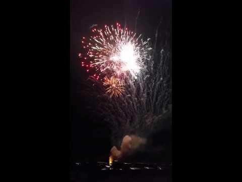 Ruby, South Carolina Fireworks Show Finale 2015