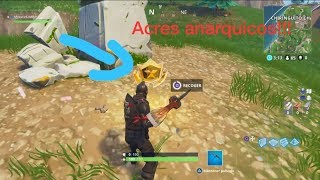 How to GET ANARQUICACRES/ FORTNITE TREASURE Map!!!