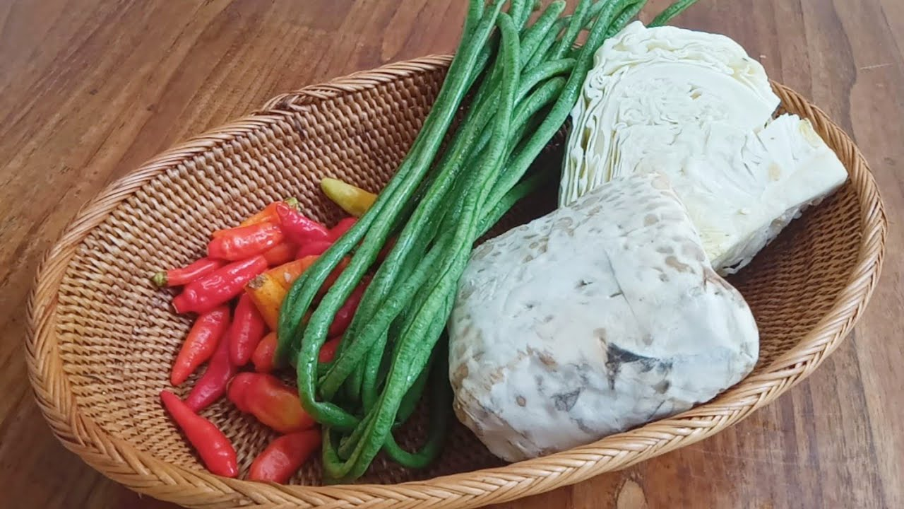 menu tanggal tua cocok untuk di maem pakai nasi atau lontong atau ketupat