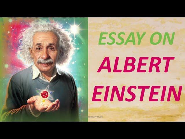 Essay on albert einstein professional university essay writer website au