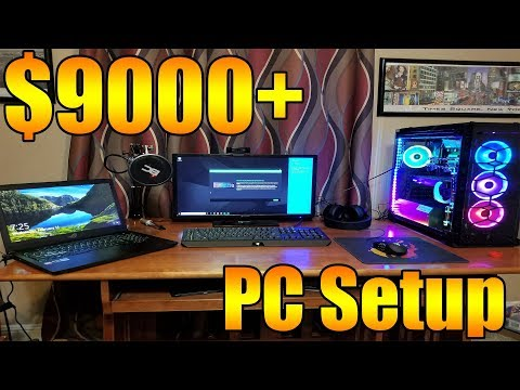Minecraft Youtuber Spends over $9000 on a PC Setup - Digital Storm Lumos Unboxing!