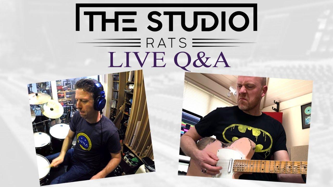The Studio Rats LIVE Q&A - Number 61