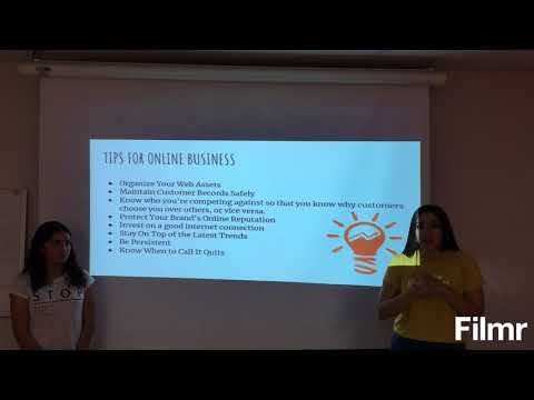 Online Business Project ENGLISH II
