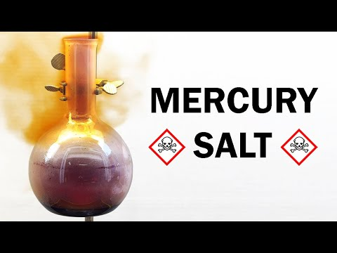 Making Mercuric Chloride (A very toxic mercury salt)
