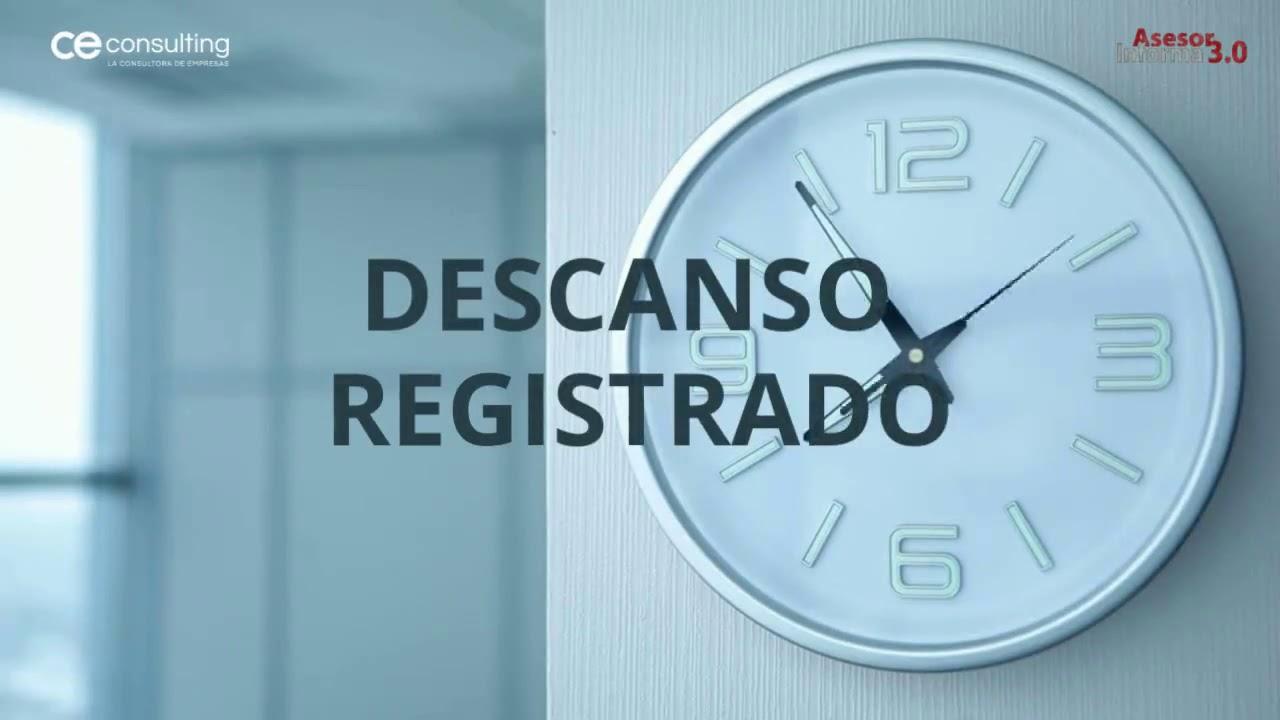 Control del registro de jornada | Asesor Informa 3.0