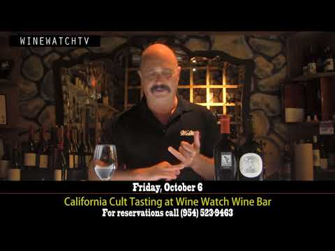 California Cult Tasting at Wine Watch Wine Bar - click image for video