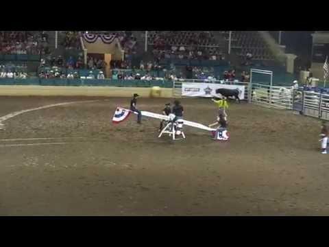 PBR Cowboy Teeter-Totter. San Diego, CA
