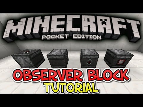 how to make observer in minecraft