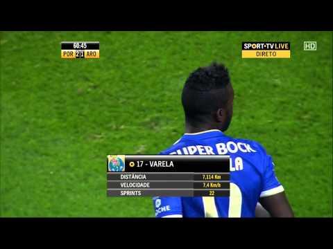 Silvestre Varela skill vs FC Arouca (2) - [SwagSkills]