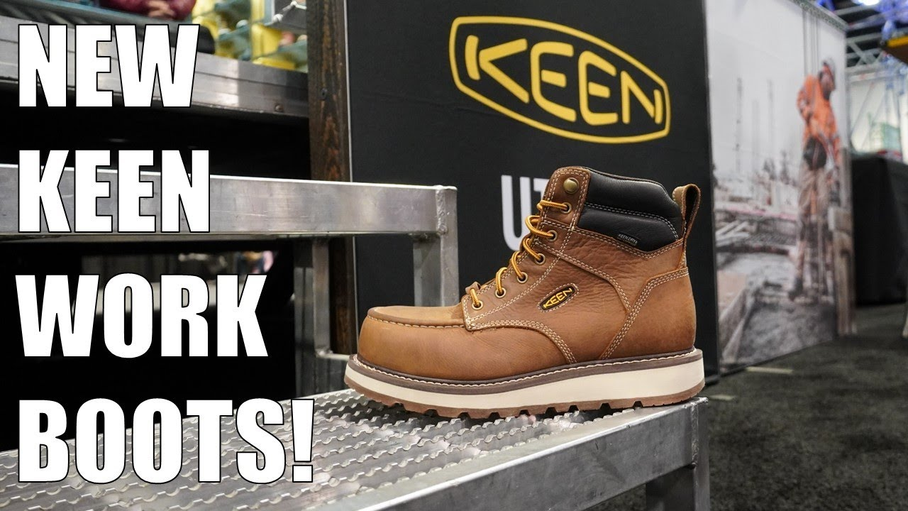 New KEEN Utility Work Boots in 2020 | World of Concrete 2020