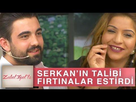 Zuhal Topal'la 190. Bölüm (HD)   Serkan'ın Talibi Fatma Stüdyoya Bir Geldi Fırtınalar Estirdi!
