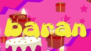 İyi ki doğdun BARAN - İsme Özel Roman Havası Doğum Günü Şarkısı (FULL VERSİYON) (REKLAMSIZ)