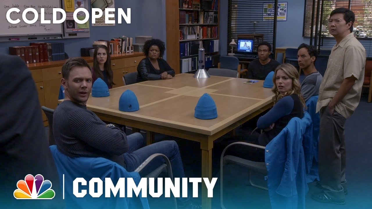 Cold Open: The Study Group Take A Polygraph Test - Community
