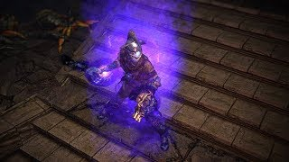 Path of Exile: Purple Character Effect