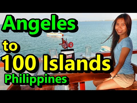 Angeles City to Hundred Islands Philippines