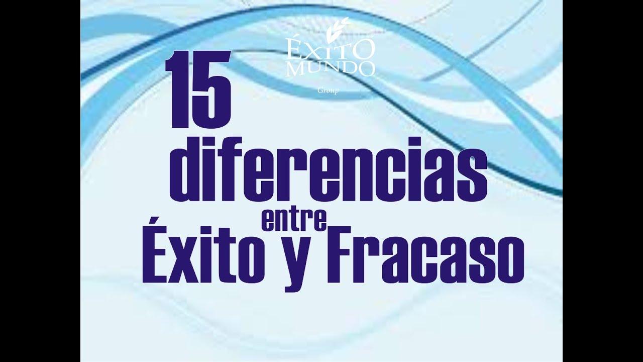 15 Diferencias En La Personalidad De Personas Exitosas Y: 15 DIFERENCIAS ENTRE GENTE EXITOSA Y FRACASADA
