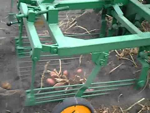 Каменская картофелекопалка вибрационная КМ-1 под ВОМ для.