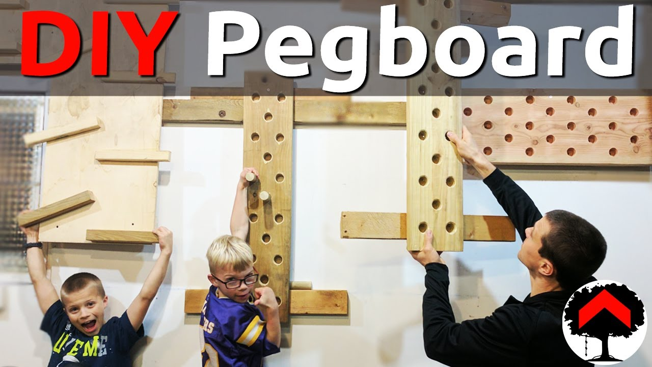 How To Build An Adjule Climbing Peg Board And Cliffhanger Or Campus French Cleat Diy