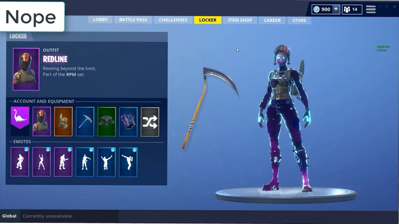 HOW TO GET GALAXY GIRL, REAPER PICKAXE, AND LOBBY SCREENS! UPDATED LINK!