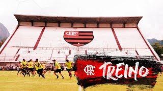 Flamengo faz último treino antes de enfrentar a Portuguesa, pela Taça Rio
