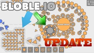 Bloble.io UPDATE // NEW ARMORY & CONTROL SOLDIER
