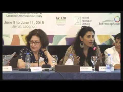 2  Women in War Annual  Conference, Beirut, June  2015